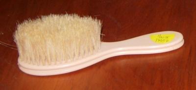 Babys Hair Brush; 2006-3016-1