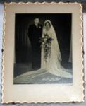 Framed Photo - Wedding 1951 (Wilton); 2011-3352-1