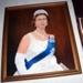 Framed Painting - Queen Elizabeth II; Evelyn McQueen; 2005-2889-1