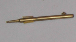 Brass Crochet Hook; 1978-0506-1