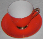 Coffee Cup & Saucer; Royal Albert; 1986-1512-1