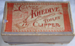 Coates Khedine Toilet Clippers; Coates Clipper Mfg; c1900; 1978-0537-1