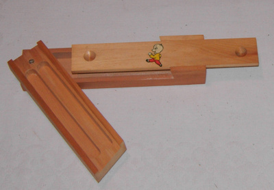Wooden Pencil Case; 2006-3051-1