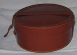 Leather Collar Box; 1982-1285-1