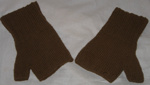 Woolen mittens; 1977/0493/1