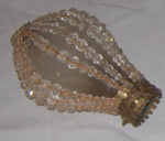 Beaded Light Bulb Cover; 1977-0298-1