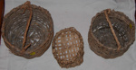 3 No. Handmade Baskets; 2006-3019-1