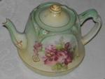 Floral Tea Pot; 1977-0182-1