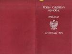 1975 memorial service booklet; 2008/3206/6