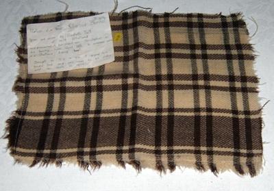 Portion of a Shetland Blanket; 1983-1436-1