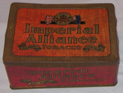 Tobacco Tin; British-Australasian Tobacco Co Pty Ltd; 1981-1219-1