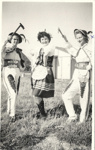 Photograph of 3 polish ladies in national costume; 2008/3206/4