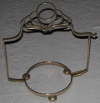 Silver Cake Plate Stand; 1979-0848-1