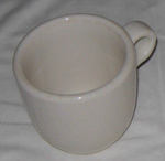 Large Mug; Shenango China; 2001-2748-1