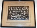 Framed Photo - Mangatainoka Football Team 1938; J Milne Allen; 1938; 1988-1584-1