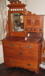 Dressing Table and Mirror; 1978/0567/1