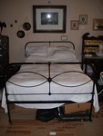 Cream Double bed; 2015/3435/1