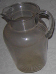 Glass Jug; 1977-0020-1