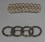 Two brooches; 1988-1579-1
