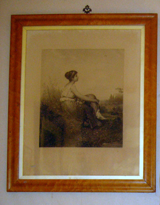 Framed Painting - Sehnen Picture; 1981-1142-1