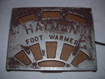 Electric Foot Warmer; Hayman; 2005-2905-1