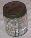 Silver Fern Tobacco Jar; Dominion Tobacco Co; 1990-1819-1