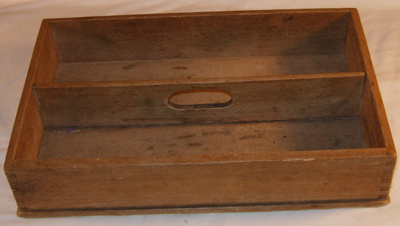 Wooden Knife Box; 2002-2827-1