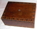 Inlaid Work Box (1870); 1977-0051-1