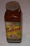 Jar of Safonia Cleaner; S W Peterson & Co; 1983-1427-1