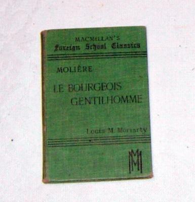 French Text Book; Macmillan & Co Ltd; 1927; 2008-3228-1