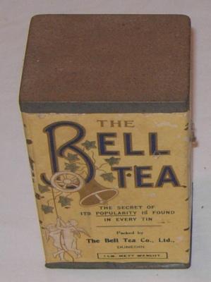 Bell Tea Tin (Small); Bell Tea Co Ltd; 1978-0532-3