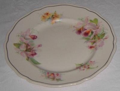 Royal Doulton Plate (Orchids); Royal Doulton; 1977-0200-1