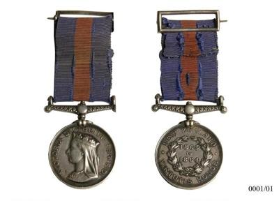 New Zealand War Medal, 0001/01