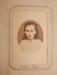 Carte de visite [Edith Lush]; Pre 1876; XEC.5293.7.3