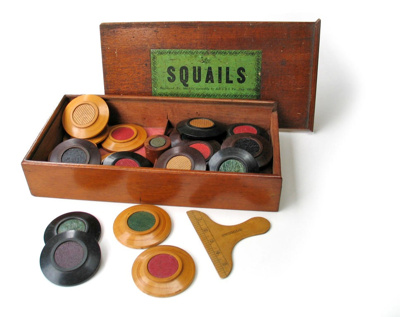 Game, 'Squails'; John Jacques & Son Ltd. (estab. 19th Century); Pre-1862; XEC.791