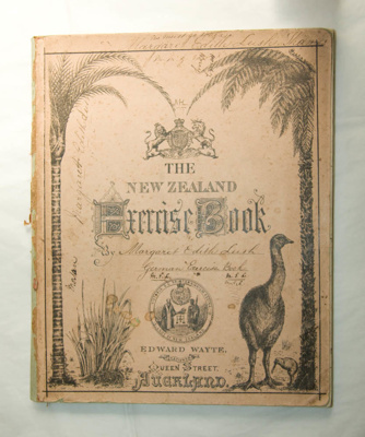 Exercise book; Edward Wayte; Pre 1876; XEC.5222
