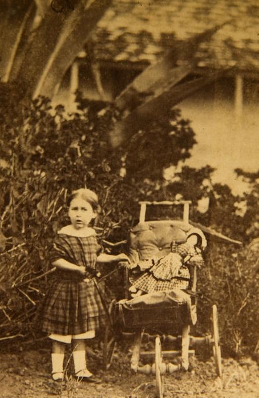 Carte De Visite Edith Lush 1863 XEC52887