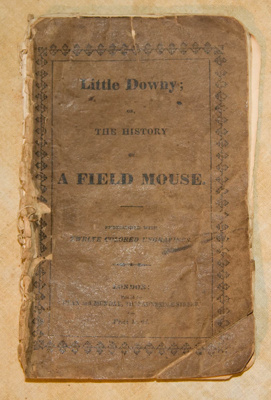 Book, 'Little Downy, or the History of a Field Mouse'; Catherine Strickland Traill (1802-1899); c. 1822; XEC2939