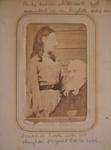 Carte de visite [Vicesimus Lush and Edith Lush]; c. 1870s; XEC.5293.2.2