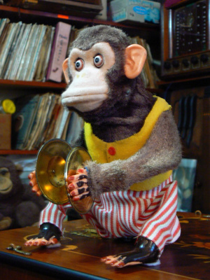 Cymbal Clapping Musical Monkey; 4