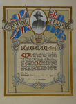 Cooling, George William Andrew: WWI Return Certificate; c1919; 2015-001-002