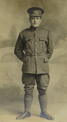 Adams, Arthur: (Service No. 42613), Rifleman,Third Battalion, First NZWF, 23rd Reinforcements, Second Draft.; 1917-1918; P8525