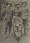 WWI soldiers in France ; Unknown; 1914-1918; 2002-1026-00104