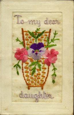 Embroidered Postcards (WWI).