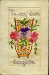 Embroidered Postcards (WWI); 12/1916; 2003-071-00021