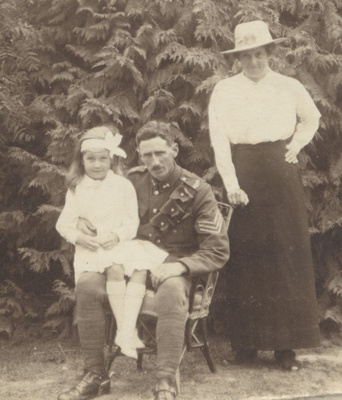 WWI soldier - Robert F Algie (?).