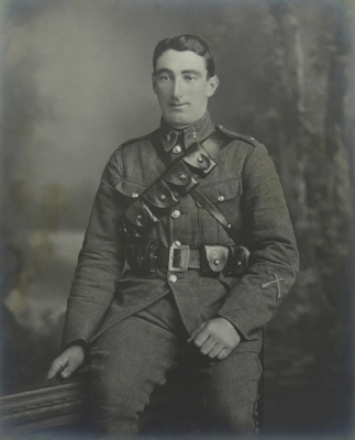 Martin Collection: 2nd Lieutenant Andrew Martin, Canterbury Mounted Rifles 7/90 ; c1915; 2002-1026-08559