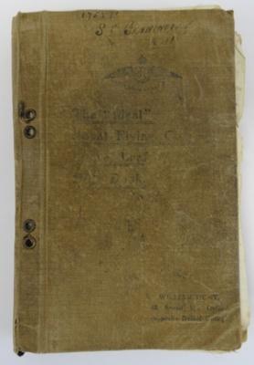 Bennington, Spencer Charles: School of Aeronautics Notes.; c1918; 2004-096-00001
