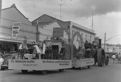 The Waimate Spring Festival during the 1970s and e...
