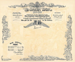 Certificate of Service of Lieutenant Albert David Smith; 1917; 2006-130-002